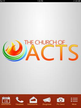 Church of Acts App poster