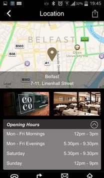 COCO Restaurant Belfast screenshot 11