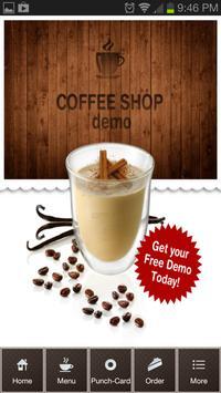 Coffee Shop Demo poster