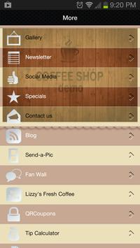 Coffee Shop Demo screenshot 1
