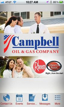 Campbell Oil and Gas Company poster