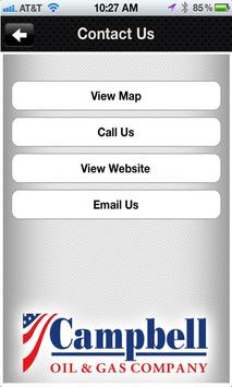 Campbell Oil and Gas Company screenshot 1