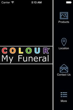Colour My Funeral poster