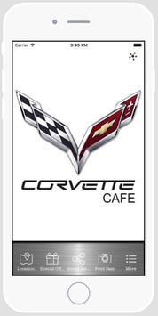 Corvette Cafe, Tucson, AZ poster