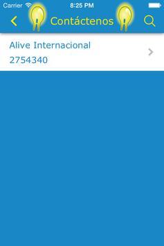 Alive Internacional apk screenshot