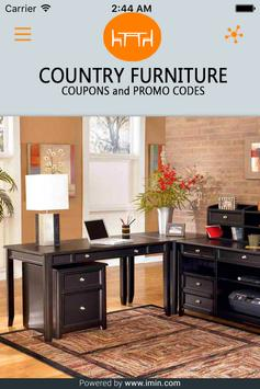 Country Furniture Coupons-ImIn poster