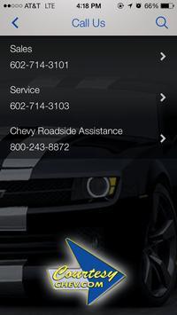 Courtesy Chevrolet apk screenshot