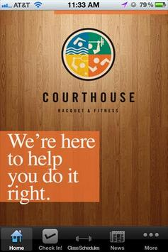 Courthouse Racquet & Fitness poster