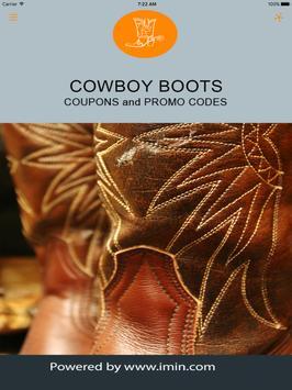 Cowboy Boots Coupons - ImIn! apk screenshot