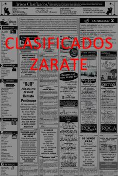 Clasificados Zárate poster
