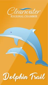 The Clearwater Dolphin Trail poster