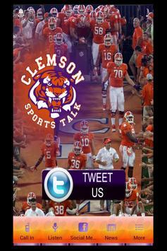 Clemson Sports Talk poster