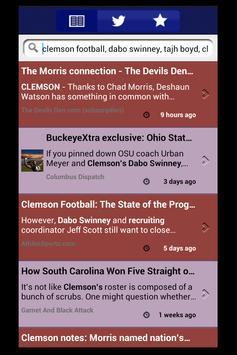 Clemson Sports Talk apk screenshot