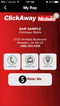 Click Away Mobile screenshot 1
