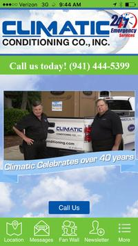 Climatic Conditioning Co, Inc. poster
