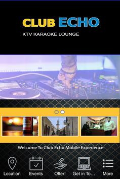Club Echo KTV Karaoke Lounge poster