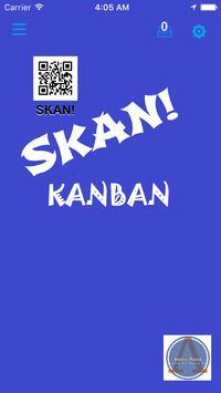 Skan KanBan poster
