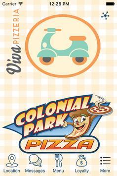 Colonial Park & Viva Pizza Hbg poster