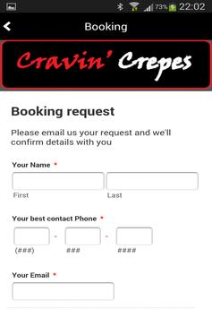 Cravin Crepes screenshot 4