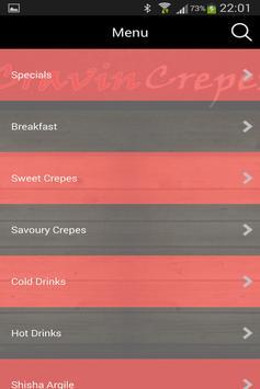 Cravin Crepes apk screenshot