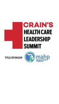 Crain's Health Care Summit poster