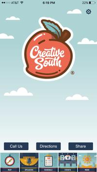 Creative South poster