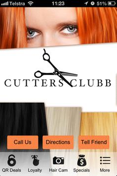 Cutters Clubb poster