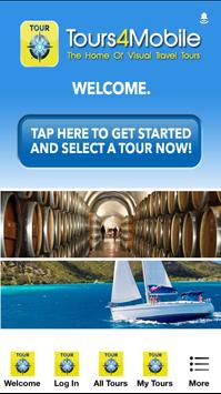 Walking Tours by Tours4Mobile poster