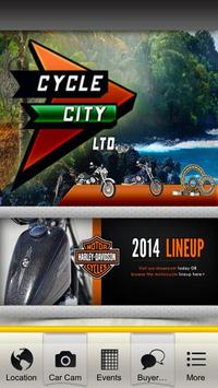 Cycle City Harley-Davidson poster