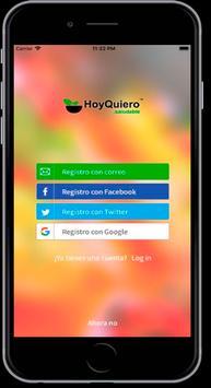 HoyQuiero.Saludable screenshot 4
