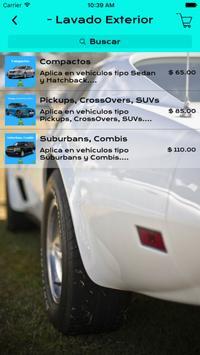 Autolavado Express a Domicilio screenshot 2