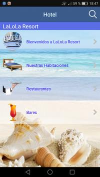 LaLoLa Demo Hoteles apk screenshot