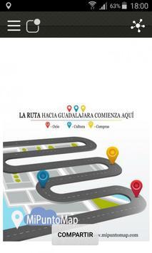 MiPuntoMap Guadalajara poster