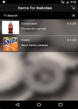 Aplicación Para Camareros y Restaurantes screenshot 1