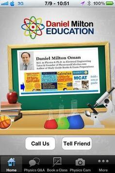 Daniel Milton Education poster
