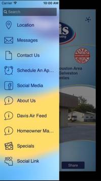 Davis Air Conditioning screenshot 2
