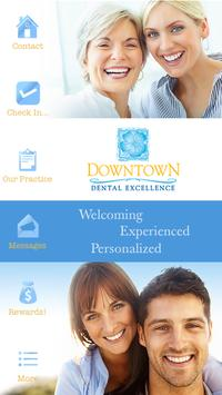 Downtown Dental Excellence poster