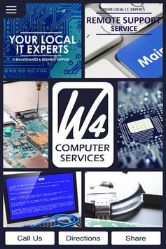 w4 Computer Services poster