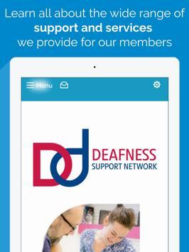 Deafness Support Network apk screenshot