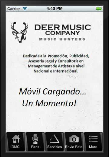 Deer Music Company poster