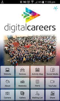 Digital Careers poster