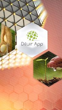Diluir App poster