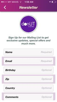 Donut Scarves apk screenshot