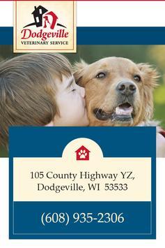 Dodgeville Veterinary Service poster