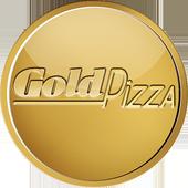 Gold Pizza icon