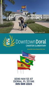 Downtown Doral Charter poster