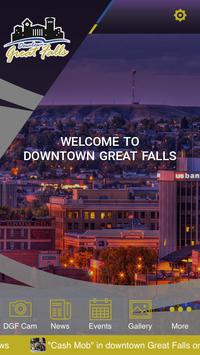 Downtown Great Falls poster