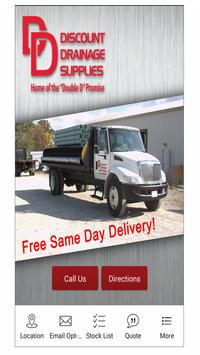 Discount Drainage Supplies poster