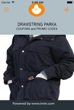 Drawstring Parka Coupons-ImIn! poster