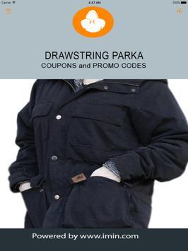 Drawstring Parka Coupons-ImIn! apk screenshot
